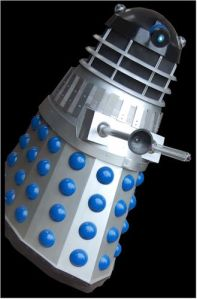 Dalek security looks on