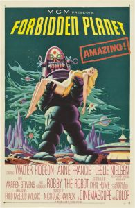 Also based loosely on the 1956 film Forbidden Planet with Leslie Nielsen