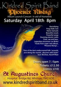 Album Launch show - St Augustine's Church Whitton 18 April 2015