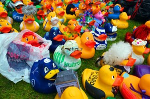 Staines Upon Thames Day - lots of interesting Arts & Crafts Stalls and Charity & Community Stalls, the exciting Dragon Boat Challenge and the wonderful duck races ...